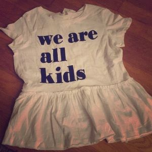 "H&M ""We Are All Kids"" Graphic Tee"
